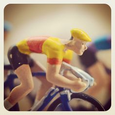 Vintage cycling toys