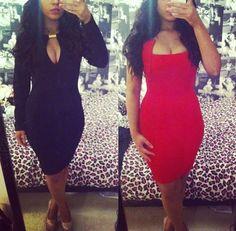 I need that black dress
