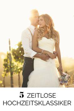 Hochzeitstrends, die nie aus der Mode kommen ♥