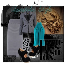 """""""Be Real, Not Perfect. Fearless Fashion Apostolic Style"""" by emmyholloway on Polyvore"""