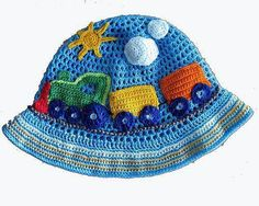 crochet baby hat - adorable!