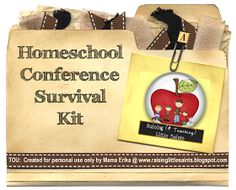 Raising (& Teaching) Little Saints | Catholic Homeschooling & Traditional Catholic: Homeschool Conference Survival Kit {Printables}