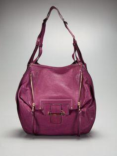 Kooba Zoey Hobo. (Perfect work bag, perfect rich colour.)