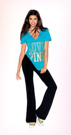 Cute to the core #VSPINK #Yoga