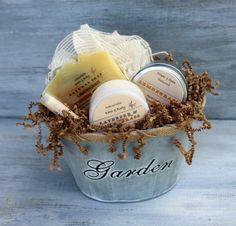 Lemongrass Soap Bath & Body Gift Basket Triple by NaturisticBath