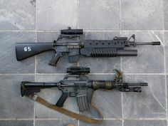 CAR-15 carbines x 2