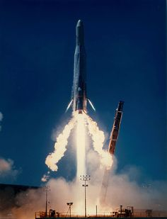 Atlas-E/-F with solid fuel upper stage (ICBM converted to satellite launcher) launching military payload. | 21 December 1982