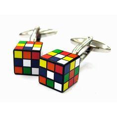 Rubik's cuff links