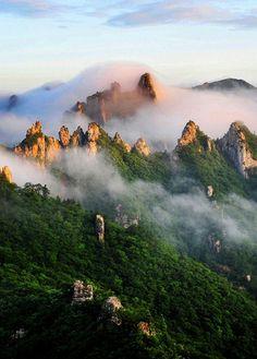 i want to go here...seoraksan national park, south korea