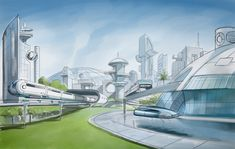 The Foundry Community :: Forums :: Futuristic City