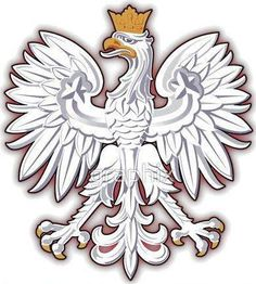 Polish Eagle Tattoo, Polish Tattoos, Polish Symbols, Ukrainian Tattoo, Eagle Wallpaper, Polish Folk Art, Polish Recipes, Star Wars Art, Back Tattoo