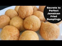 Learn how to make this traditional Jamaican breakfast side dish perfectly fluffy and soft on the inside but flaky and cripsy on the outside. RECIPE YIELD: Th. Jamaican Cuisine, Jamaican Dishes, Jamaican Recipes, Curry Recipes, Oven Chicken Recipes, Dutch Oven Recipes, Fry Dumpling Recipe, Jamaican Fried Dumplings, Jamaican Breakfast