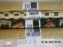 Fat Quarters - New - Shipping Included Lot 27