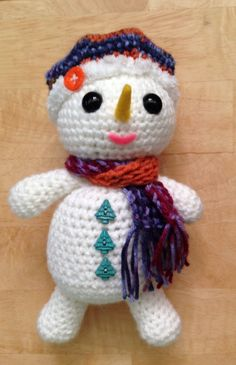 Holiday Snowman ~ PJ Crafts in Austin