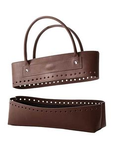 Shop for Bergere De France Faux Leather Bag Kit-Brown. Get free delivery On EVERYTHING* Overstock - Your Online Sewing & Needlework Shop! Get in rewards with Club O! Crochet Handbags, Crochet Purses, Crochet Bags, Diy Handbag, Leather Pieces, Knitted Bags, Crochet Accessories, Black Faux Leather, Vintage Leather