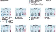 El calendario laboral de 2016 ya es oficial ocho festivos en toda España | Reporte 24 España