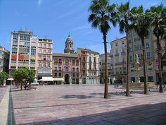 Plaza Constitucion, Malaga Center, Spain