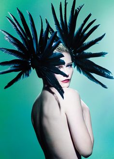 Kirsten Dunst by Mario Testino for the Spring 2010 issue of V Magazine