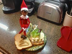 The hungry elf...