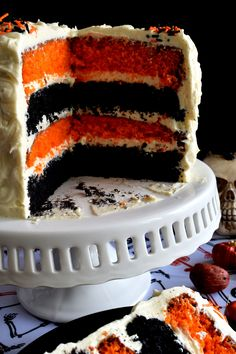 What's Halloween without black and orange? This cake, although simple to make, looks super impressive. Halloween Pumpkin Cake with Cream Cheese Frosting will surely impress all of your favourite little trick or treater's! Not to mention the fact that the…