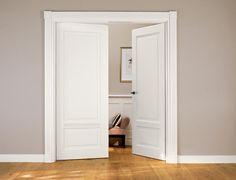 Klassische Doppeltür von Brüchert + Kärner