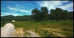 Ruta BTT por la vía verde Cerro del Hierro. Sierra Norte de Sevilla.