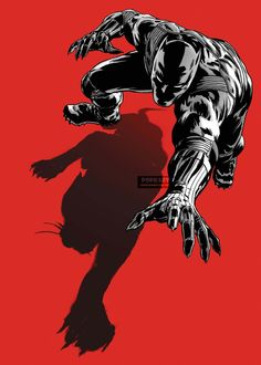 The Black Panther Poster No AS100 via PopKartSg Posters. Click on the image to see more!
