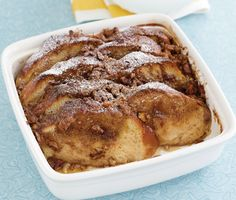 Praline French Toast Bread Pudding Recipe   Epicurious