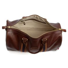 The Leather Flight Holdall, full grain leather holdall designed to comply with current IATA carry-on regulations; ideal for long weekends and overnight trips. Made in England by Chapman Bags Leather Bags, Luggage Bags, Travel Bags, Trips, England, Leather Tote Handbags, Travel Handbags, Viajes