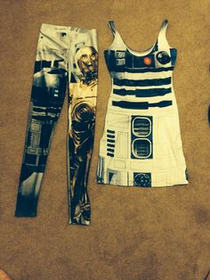 Star Wars clothes from Blackmilk. In love!