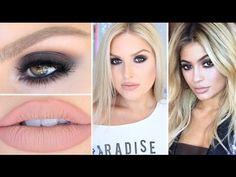 Kylie Jenner Inspired Smokey Eyes ♡ BH Cosmetics Shaaanxo Palette! Brown Smokey Eye Makeup, Bronze Smokey Eye, Purple Smokey Eye, Smokey Eye Makeup Tutorial, Blue Makeup, Makeup Eyes, Makeup Tutorials Youtube, Beauty Tutorials, Video Tutorials