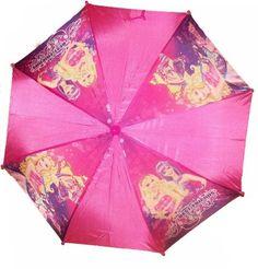 Character Barbie Pink Umbrella Nylon