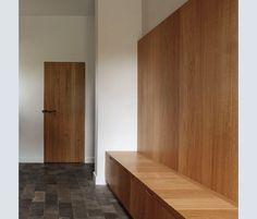 Il legno usato all'interno non ha nulla a che vedere con lo stile rustico