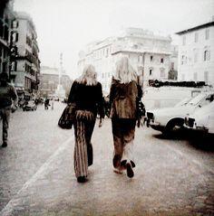 Roma. Piazza di Spagna. 1974