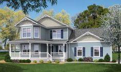 Traditional 2-Story Modular Houses, Home Plans, Norfolk Virginia