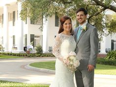 In the spotlight today: A hometown Louisiana wedding for Governor John Bel Edwards' daughter Samantha and her husband Jonathan. http://www.neworleansweddingsmagazine.com/real-wedding-samantha-jonathan-hometown-wedding/ photo: Lee Wheeler