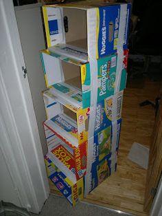 Le Baby Bakery: Cardboard Box Storage