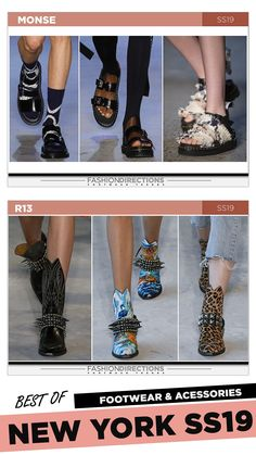 #nyfw #2018 #ss19 #bestof #womens #footwear #shoes #handbags #trends #fashion #accessories #fashiondirections #r13 #monse Nyfw 2018, Fashion Shoes, Fashion Accessories, Footwear Shoes, Ulla Johnson, Designer Shoes, Handbags, Fashion Trends, Women