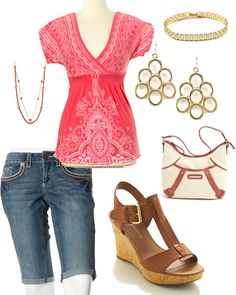 Croped Jeans Outfit