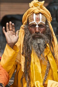Famous holyman Kathmandu