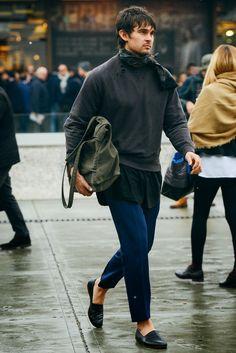 Tommy Ton street style – Milan