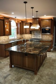 Granite Counter Tops Kitchen Design, Pictures, Remodel, Decor and Ideas - page 23