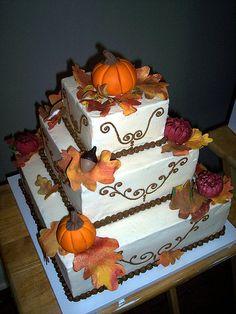 Autumn Birthday by Cake~n~Bake, via Flickr