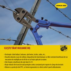 ☛ Unealtă robustă și ușor de utilizat, dispozitivul de tăiat buloane cu fălci centrate beneficiază de un mecanism de multiplicare de 80 de ori al forței aplicate la mâner ☛ Fălci forjate și durificate din oțel aliat (Cr-V) ☛ Brațe robuste din teavă de oțel protejate contra coroziunii prin vopsire în câmp electrostatic ☛ Mânere cu protecție din PVC, cu formă ergonomică ce oferă confort sporit utilizatorului.  👁️ Solicita mai multe informatii »»» Tel: 0786.726.912  #VenusDSH #sezon #desezon #like Venus, Venus Symbol