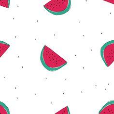 """A la rica fruta"" pattern serie."