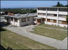 Fort Ord -- Could be the barracks in which  I was housed during Basic Training in 1970/71. The L-shape housed the mess hall at the end of each barracks building. I was in A-1-1