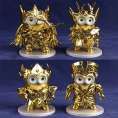 """Despicable Me"" minions as Saint Seiya's Gold Saints."