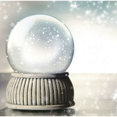 Winter Crystal Ball 12 x 12 Paper ($1) ❤ liked on Polyvore featuring backgrounds, christmas, snowglobes, winter and pictures