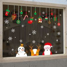 noel 2019 Style: Modern Classification: For Wall,Furniture Stickers,Window Stickers Pattern: Plane Wall Sticker Specification: Single-piece Package Model Number: Wall Sticker Theme: Characters Scenarios: Wall Material: PVC Office Christmas Decorations, Christmas Crafts For Kids, Christmas Activities, Xmas Crafts, Christmas Art, Classroom Window Decorations, Craft Decorations, Diy Crafts, Vintage Christmas