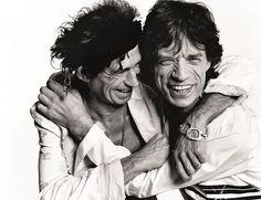 Keith Richards & Mick Jagger, Los Angeles, British Vogue 2003